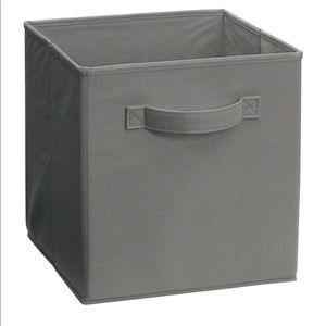 5 Closetmaid Fabric Storage Drawer, Smoke Gray